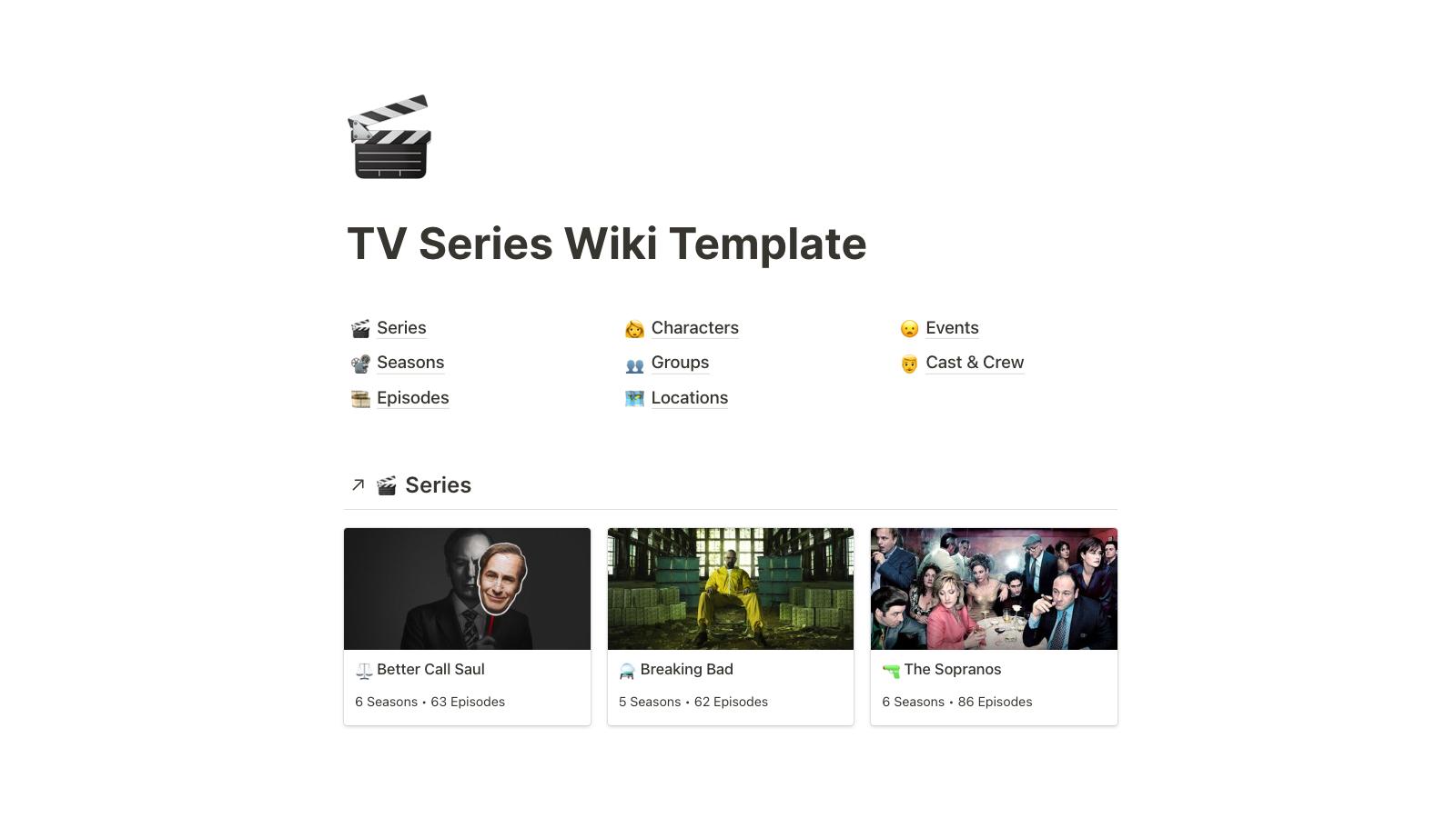 TV Series Wiki